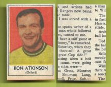 Oxford United Ron Atkinson 1969
